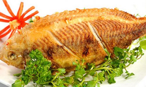Cá rô phi rán giòn