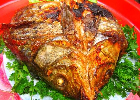 Cá bắp nẻ nướng thơm ngon