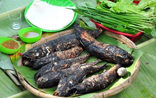 Cá lóc nướng đặc sản Nam Bộ