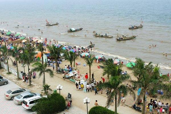 Vẻ đẹp bờ biển Hải Tiến
